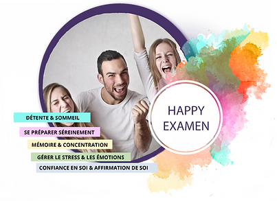 Happy examens greoupe etudiants