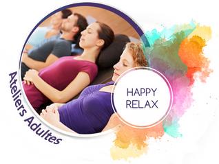 Saison Happy Relax 2019-2020 : Atelier de sophrologie  Afterwork en groupe