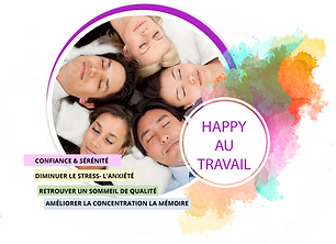 Happy relax groupe travail