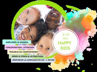 Saison Happy Sophro 2019-2020 : Ateliers de groupe pour enfants Happy Kids