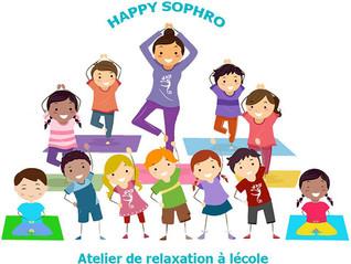 Ateliers sophrologie, massage et relaxation à l'école