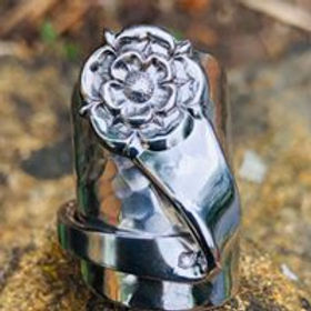 Yorkshire Rose - Spoon Ring