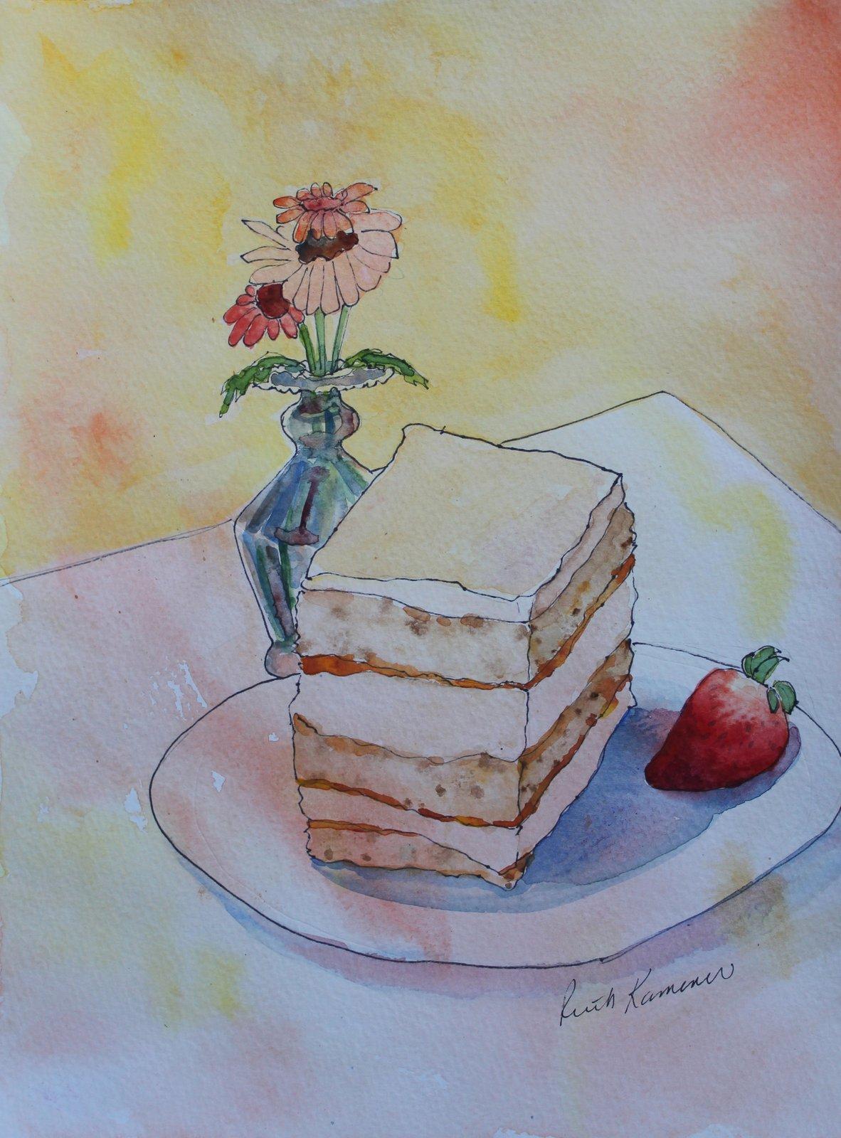 TOASTED PECAN CHIFFON CAKE