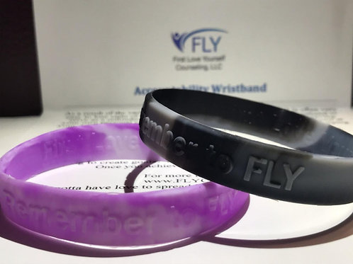 FLY Accountability Wristband