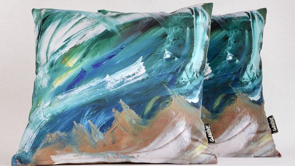 Ocean pillow 40x40