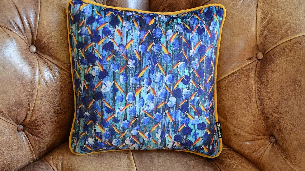 Kenneth parrots pillow 40x40cm