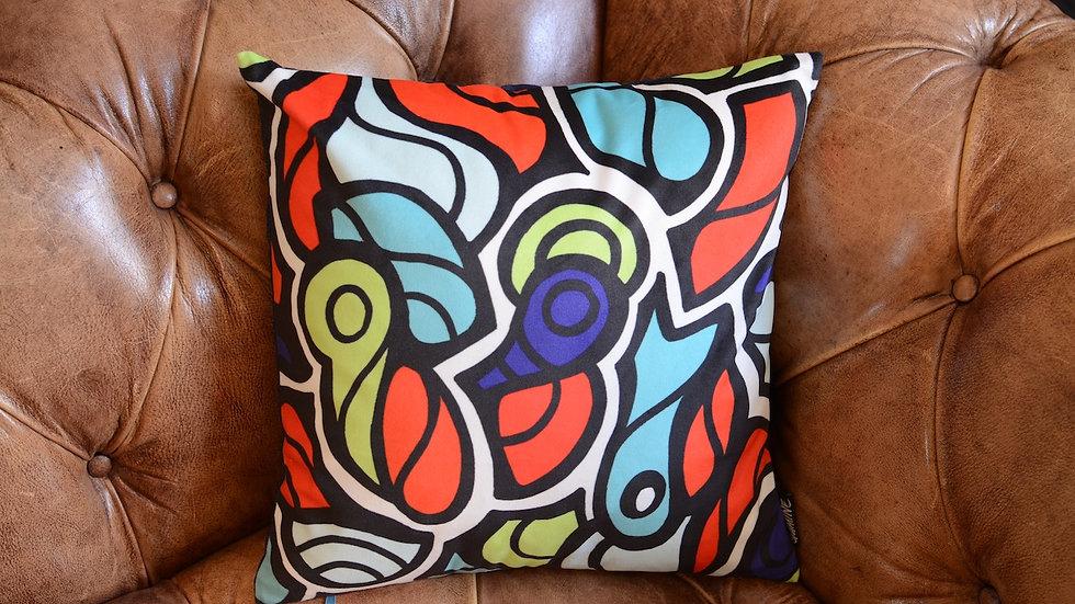 Jesse rainbow pillow 40x40cm