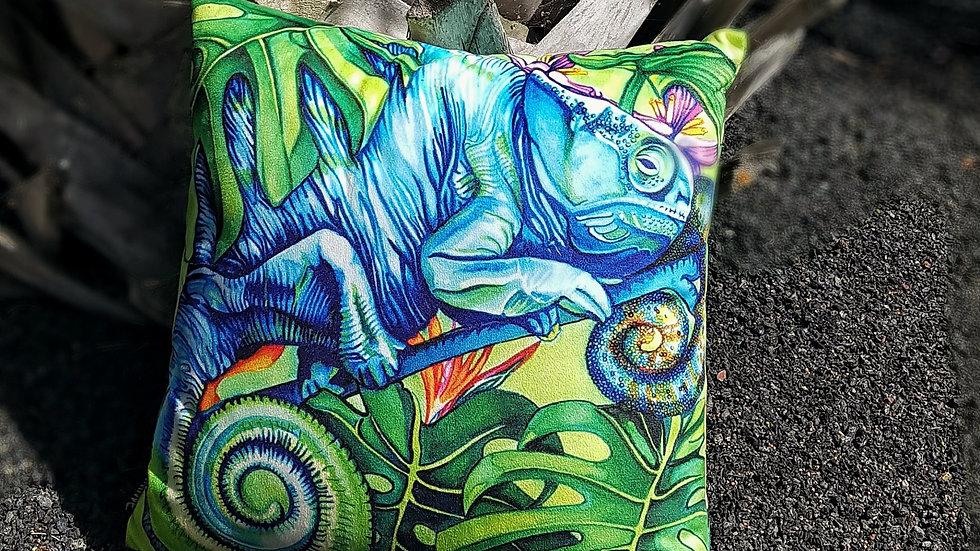 Chameleon pillow 40x40cm