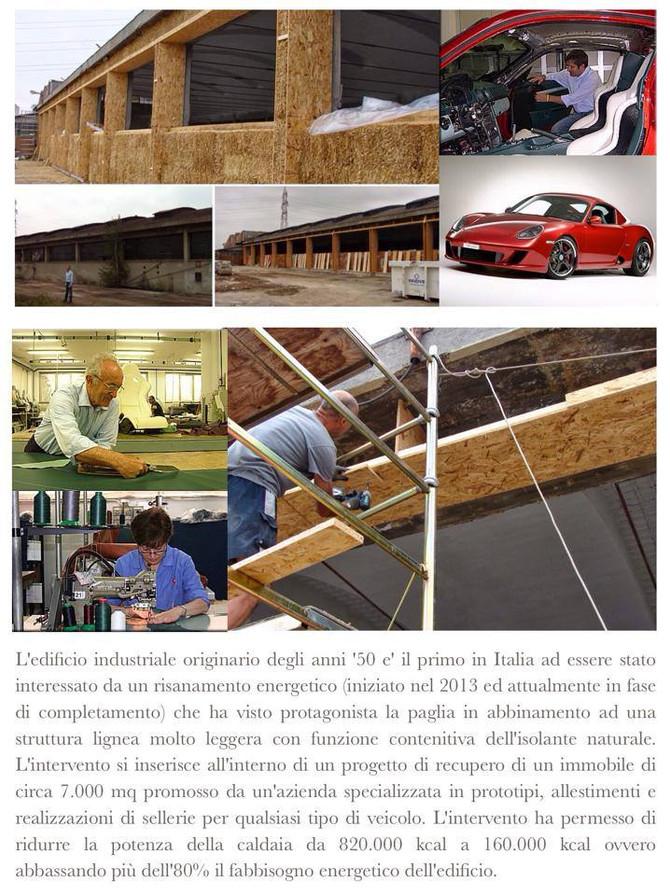 Risanamento Edificio Industriale a Grugliasco - Italia