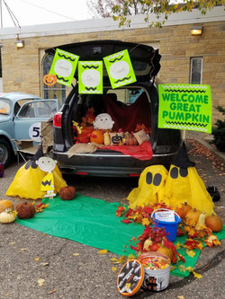 The Great Pumpkin at Trunk or Treat