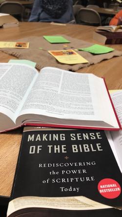 Making Sense of the Bible study series