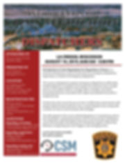 Dispatchers La Crosse August 2019 Flyer