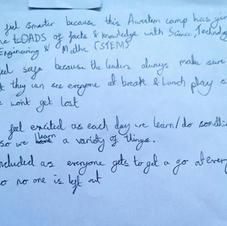 Students feedback