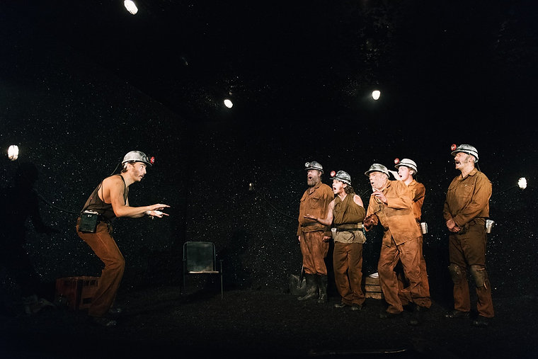 Land of our Fathers Theatre503 West End UK Tour Movement welsh mining