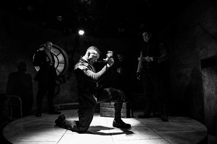 Accedian Pirates Fight Scee Theatre503
