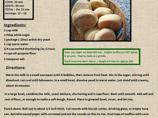 Fabulous Homemade English Muffins