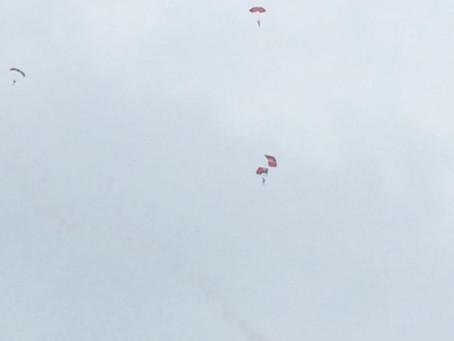 Whitehaven: Red Devil Parachute Fails