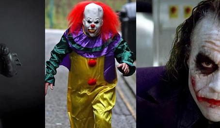 Clowns and Batman: Feature