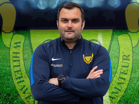 CLUB STATEMENT: Billy Redden, First Team Manager to leave Whitehaven AFC.