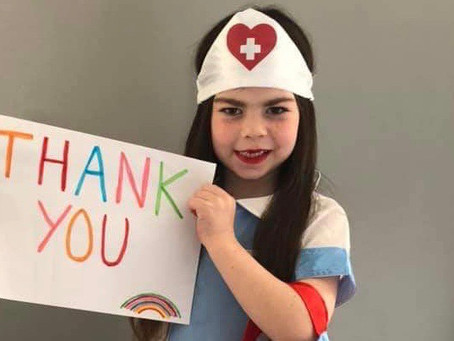 Inspirational girl (6) from Whitehaven raises over six-hundred pound for the NHS