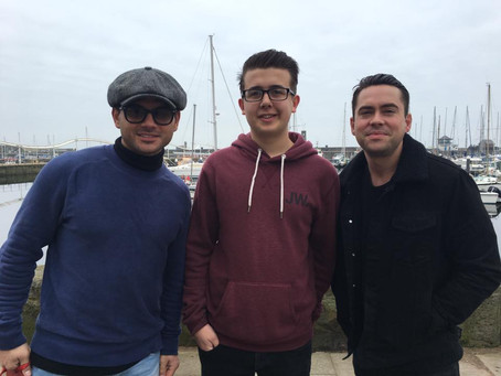 Coronation Streets Ryan Thomas and Bruno Langley in Whitehaven!