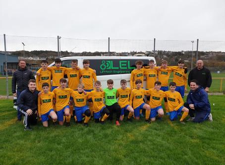 Under 15's new sponsor LEL