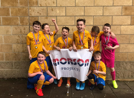 Morson Projects Sponsored U10 Boys won Futsal Cup!
