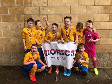 Morson Projects Sponsored U10 Boys won Futsal Cup!
