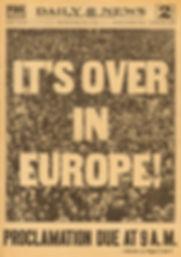 1945 Daily News New York 8th May 1945 LR
