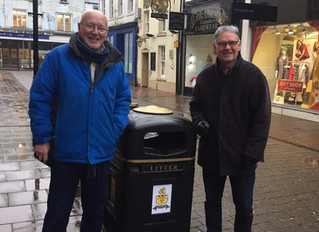 New Bins for Whitehaven Town Centre