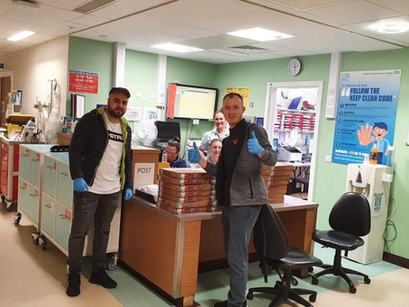 Whitehaven Takeaway donates food to NHS and Police