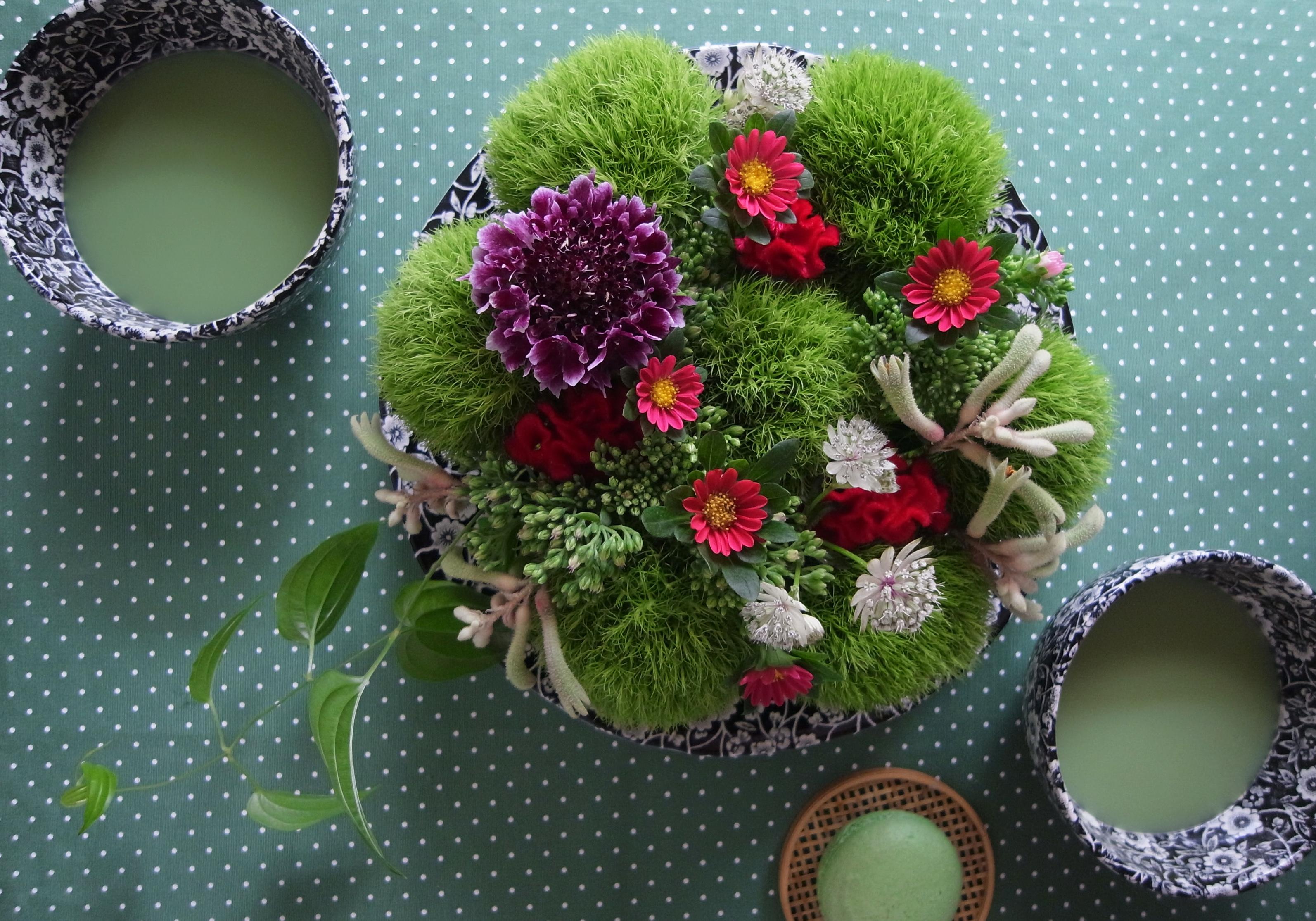green teatime
