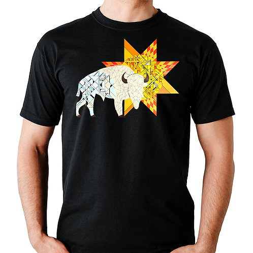 Star of the Plains crew neck t-shirt