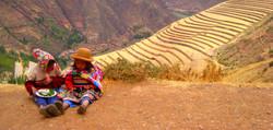 Peruaanse kinderen in de Sacred Valley