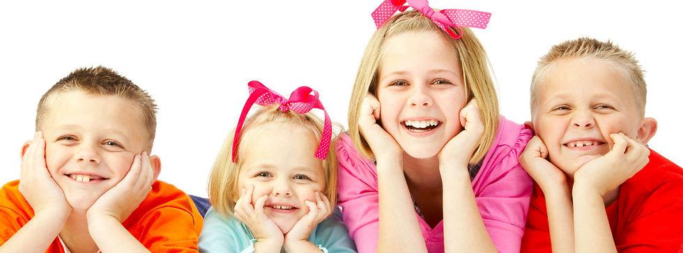 Kids with good oral hygiene