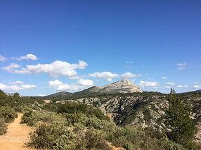 サント・ヴィクトワール山 Ste.Victoire