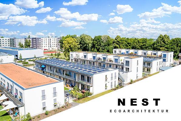 Passivhaus-Wohnanlage in München, Prinz-Eugen-Park.