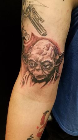 yoda tatoo