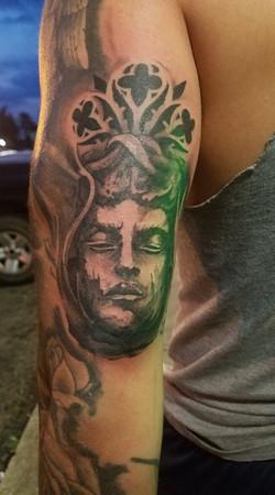 michael tattoo