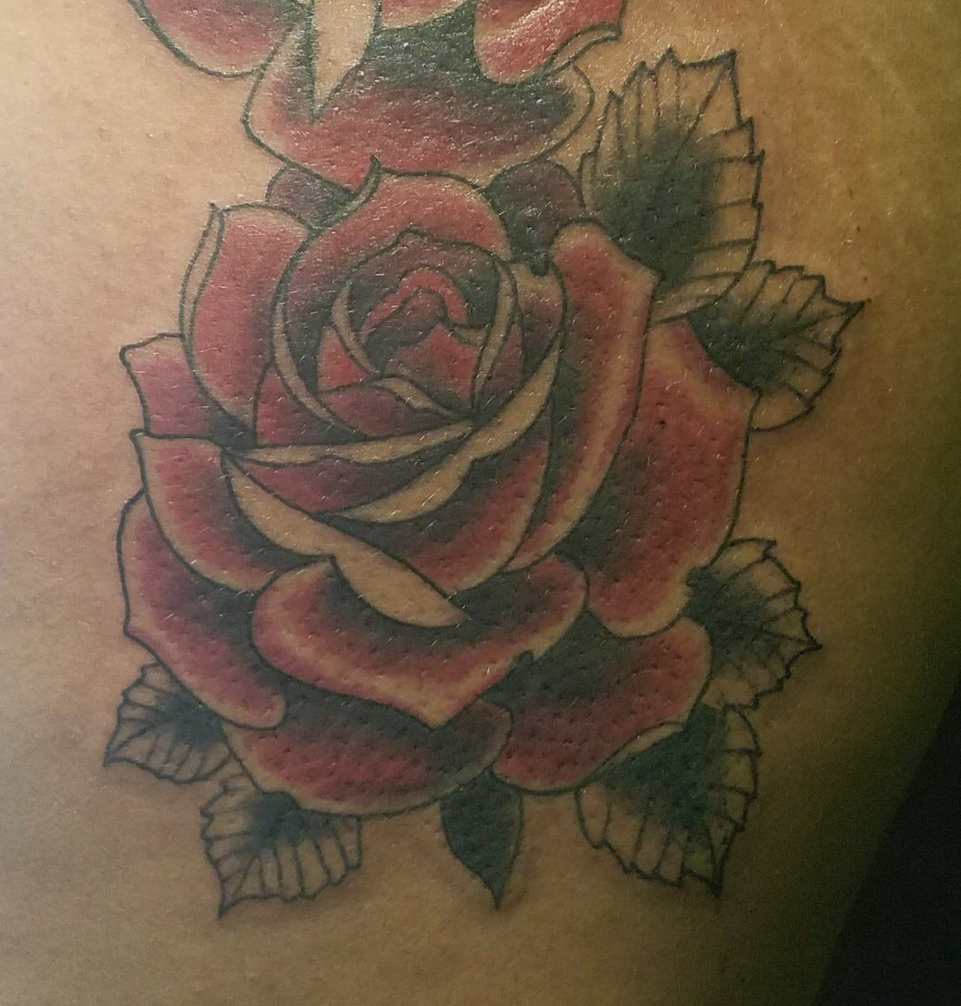 rose tatttoo