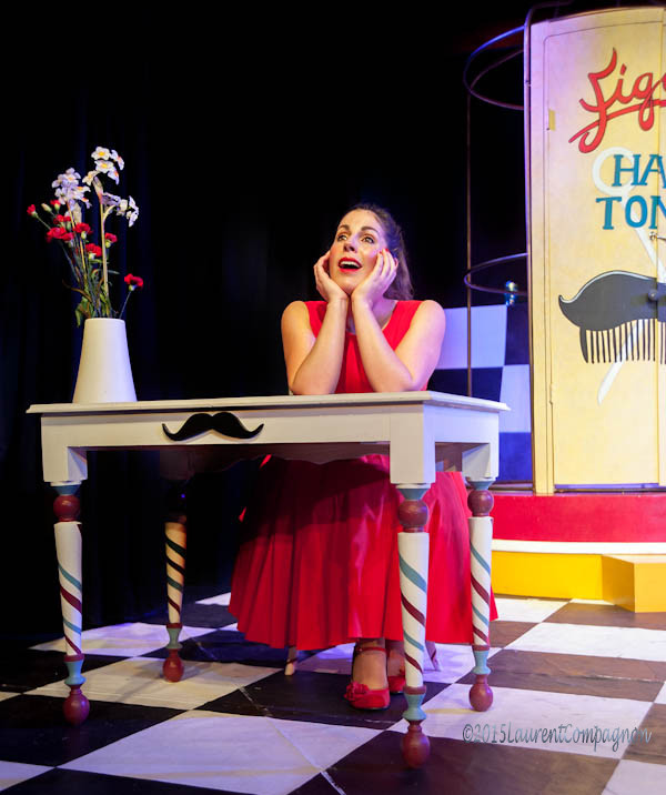 Scenes from our production of 'The Barber of Seville'