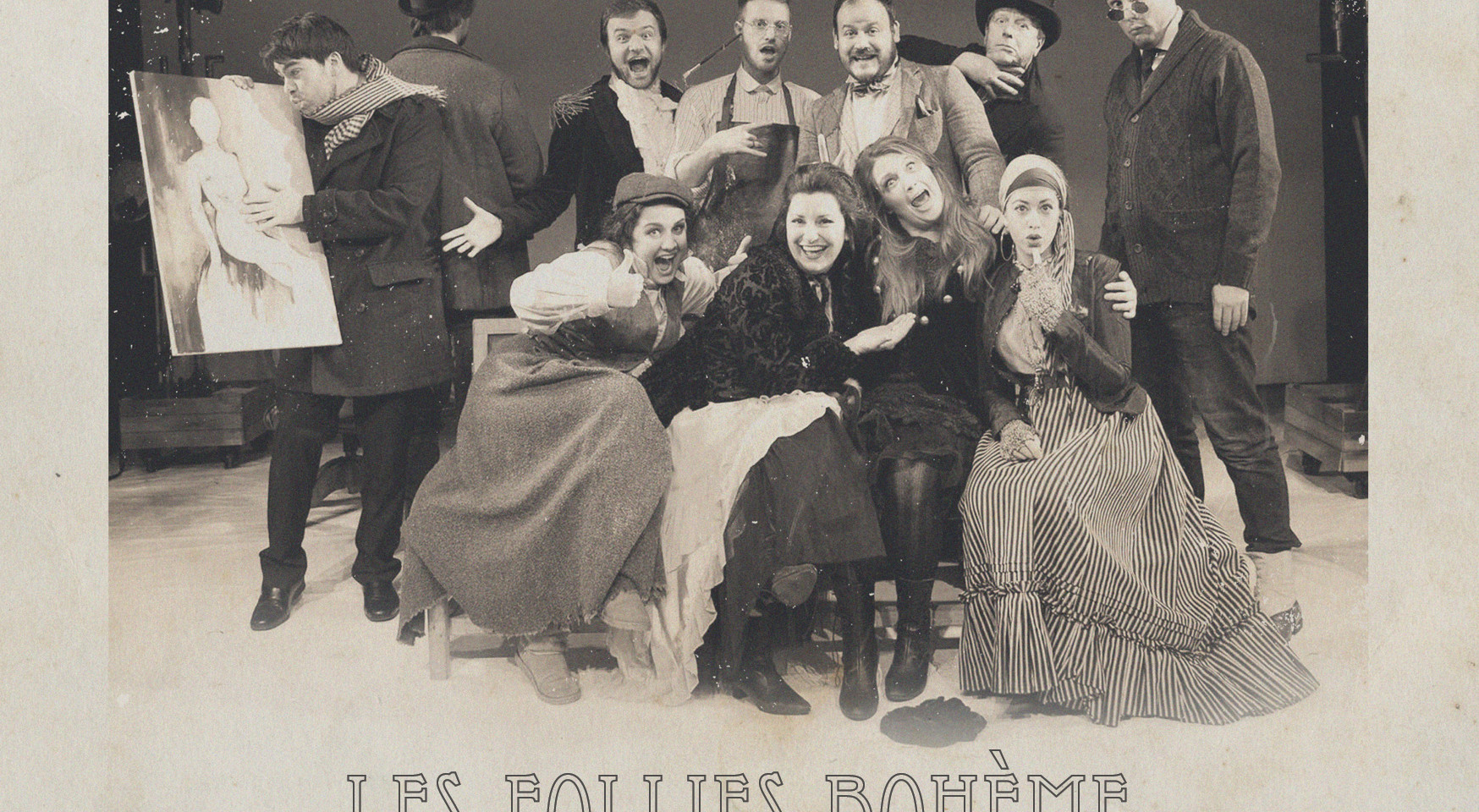 A nostalgic image from our 'production of La bohème'