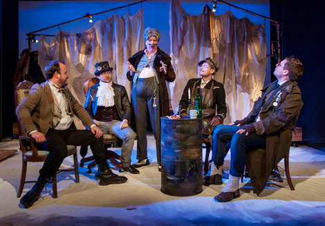 Scenes from our production of 'La bohème'