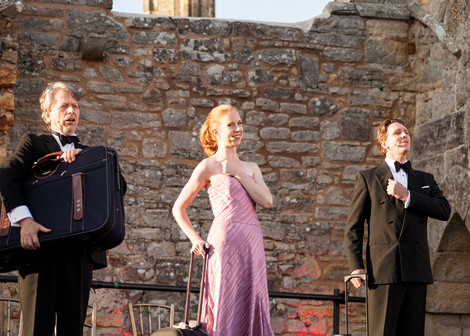 Scenes from our production of 'Around the World in 32 Arias'