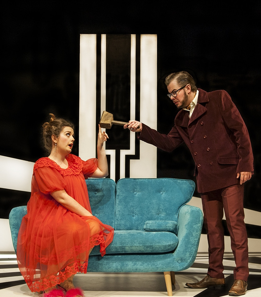 Scenes from our production the Marriage of Figaro