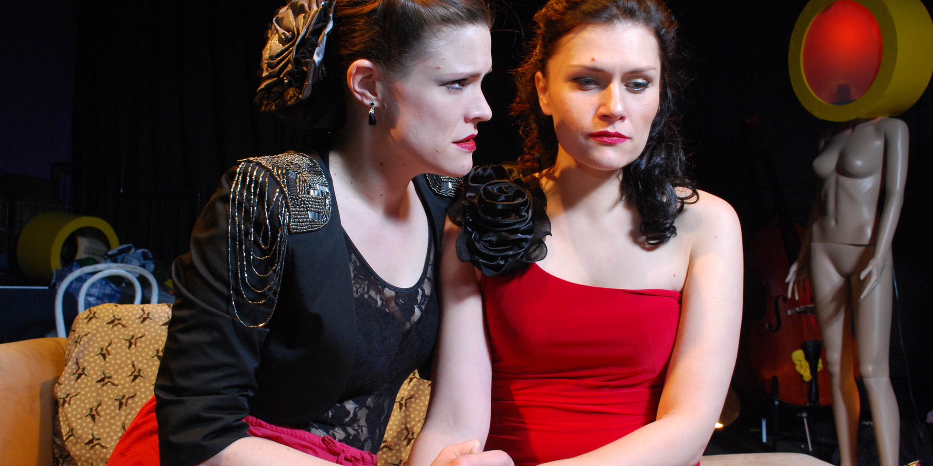 Scenes from our production of 'La traviata'