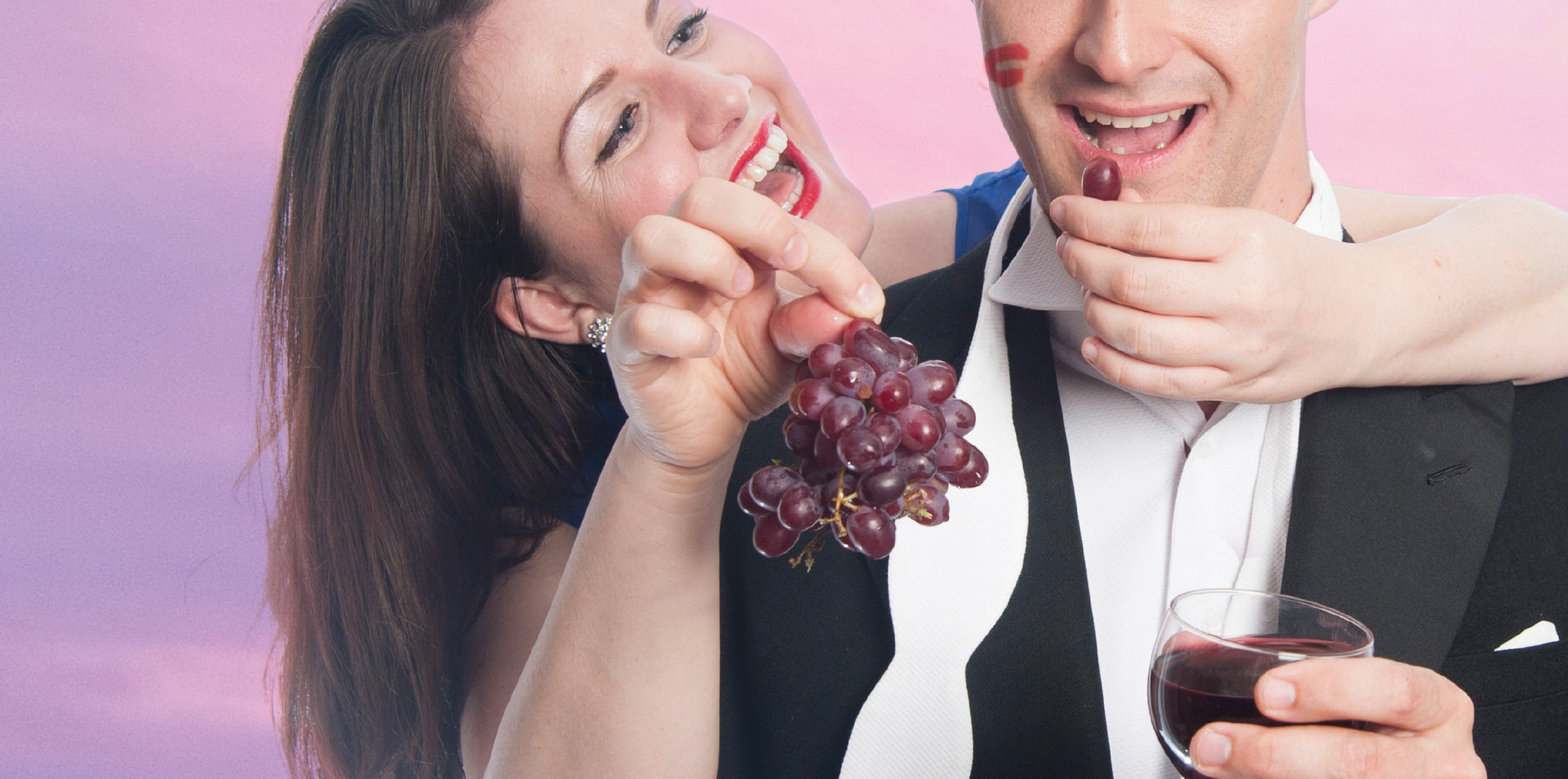 Promotional Image for our opera revue 'Eat, Drink, Love!'