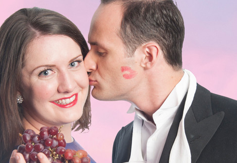 Promotional image for our production of 'Eat, Drink, Love!'