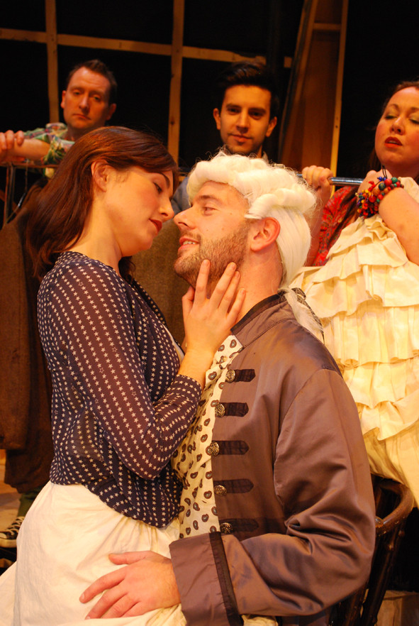 Scenes from our production of 'Kiss me, Figaro!'