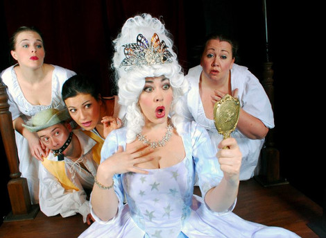 Scenes from our production of 'The Magic Flute'